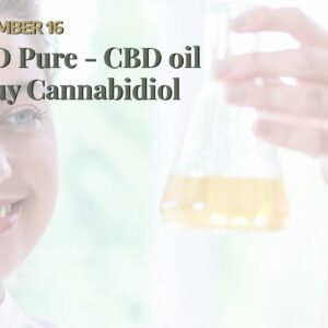 CBD Pure - CBD oil - Buy Cannabidiol Oil
