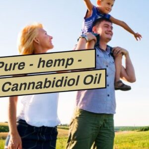 CBD Pure - hemp - Buy Cannabidiol Oil