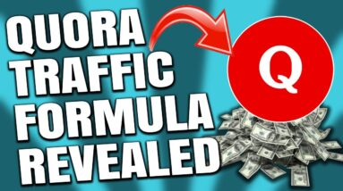 How To Get Traffic From Quora THIS WEEK! (Quora Marketing Strategy REVEALED)