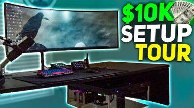 $10k Content Creation Setup Tour
