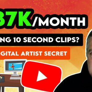 $187K/Month Uploading 10 Second YouTube Shorts? | Make Money Online