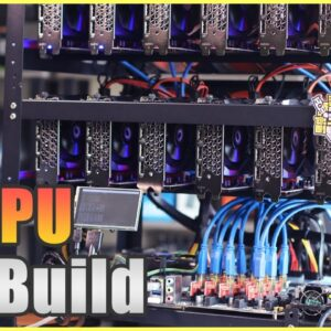 12 GPU Rig Build Pt 1 | Ethereum Crypto Mining Rig | Zotac | aaawave | Parallel Miner ZSX