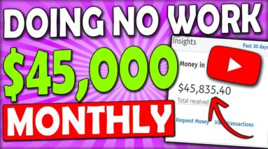 Earn $1,500 Per Day DOING NO WORK In Passive Income (Make Money Online) NO CAMERA NEEDED!