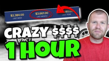 Earn $300-$1,000+ in ONE Hour   FREE Make Money Online 2021