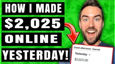 How I Made $2025 Yesterday With Affiliate Marketing [Full Tutorial]