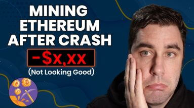 How Much My Ethereum Mining Rig Is Making After The Crash! (UPDATE)