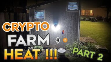 How to Deal with the HEAT of a GPU Crypto Mining Farm - Part 2