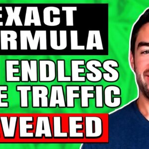 How To Get FREE Traffic To Your Website In 2021 (EASY Formula)