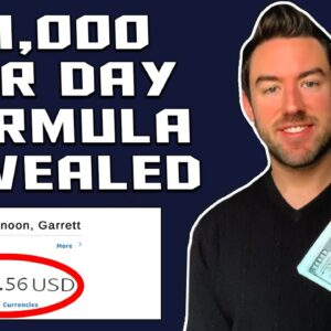 How To Make 1000 Dollars A Day Online (SIMPLE FORMULA)