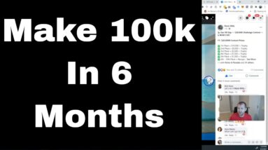 How To Make 6-Figures In 6 Months! Proof Inside Video!