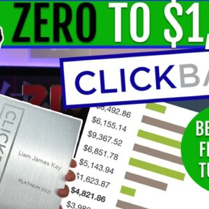 How to Make Your FIRST $1000 on Clickbank Tutorial For Beginners