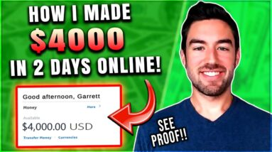 4 EASY Steps I Took To Make $4000 In 2 Days! (High Ticket Affiliate Marketing For Beginners)