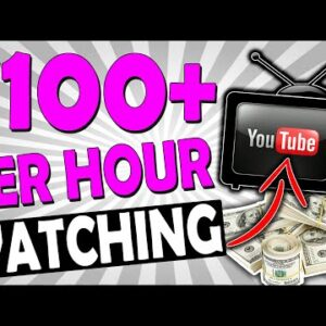 HOW TO MAKE MONEY WATCHING YOUTUBE VIDEOS & EARN $100+ PER HOUR ONLINE (SUPER SIMPLE)