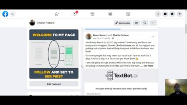 Textbot.ai 2020 - Team Member Made His First Ever $100 Sale With My Videos + Testimonial PROOF