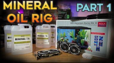 Mineral Oil Submerged GPU Crypto Mining Rig Build - Part 1
