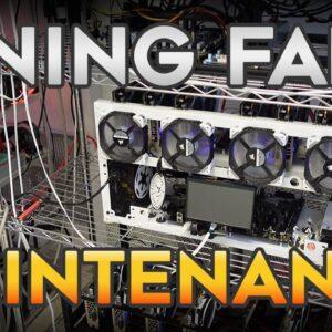 Crypto Mining Farm Maintenance - How much work does it take to run a small GPU farm???