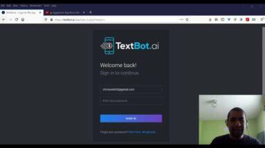 Textbot.ai Review + Backoffice Walkthrough