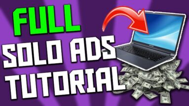 Udimi Solo Ads Tutorial 2021: How To Make BIG MONEY With Solo Ads!