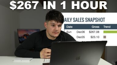Watch Me Make $267 In One Hour on Clickbank (Affiliate Marketing)