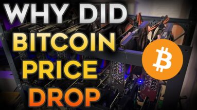 Why did Bitcoin's Price Drop??? aaawave Riser Giveaway !!!