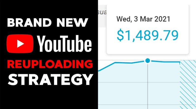 How To Make Money on Youtube Without Making Videos 2021 (NEW STRATEGY) (Make Money Reuploading)