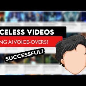Are Faceless Videos With AI Voices Successful on YouTube?