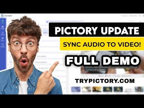 Autosync Voice-Over To ENTIRE Video | Pictory Update [DEMO]