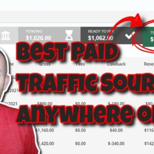 Top 3 Paid Traffic Sources For Affiliate Marketing 2021 ($40,000+ Month Profit Paid Traffic Methods)