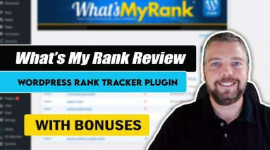 What's My Rank Review   Wordpress Rank Tracking Plugin